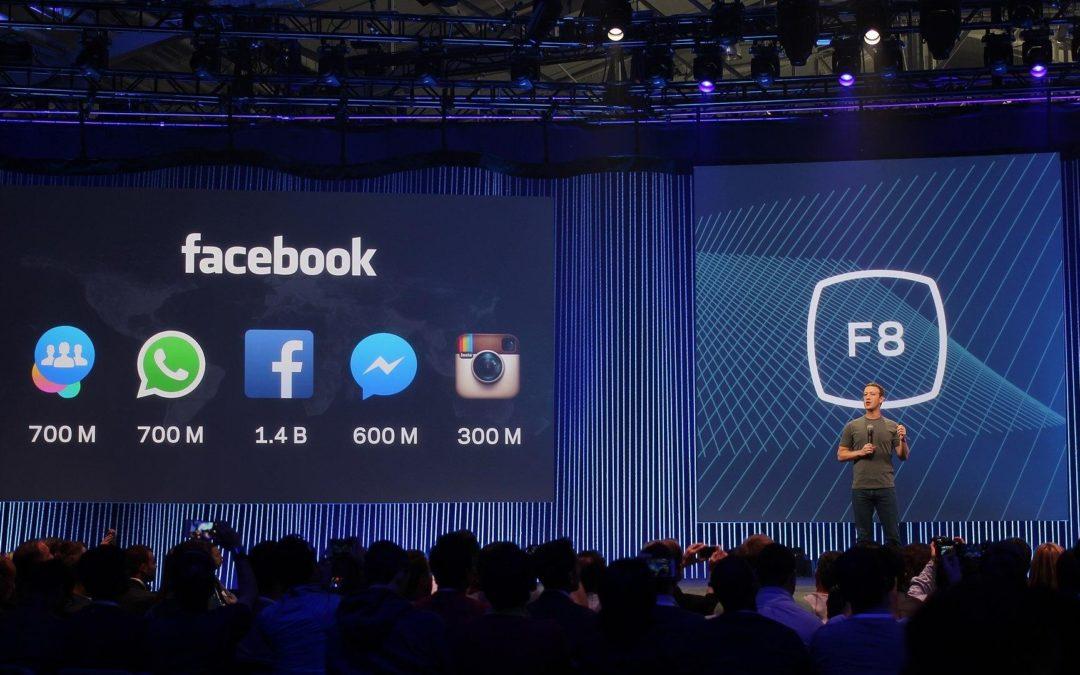 Les nouveautés annoncées lors du Facebook F8 pour 2020