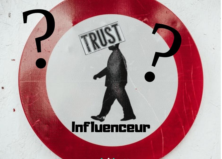 Seulement 4% des gens font confiance à ce que les influenceurs disent en ligne